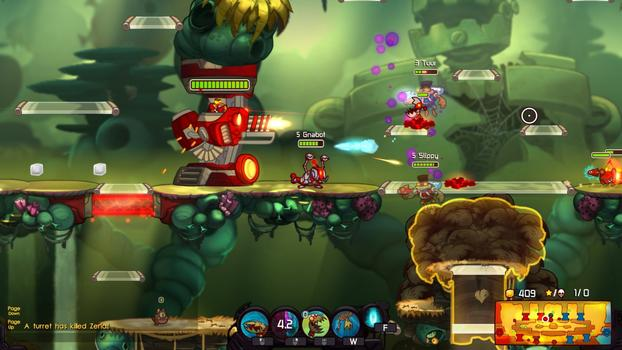 Awesomenauts - Gnabot on PC screenshot #3