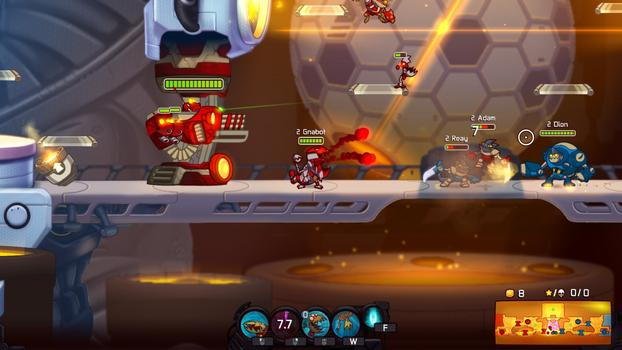Awesomenauts - Gnabot on PC screenshot #4