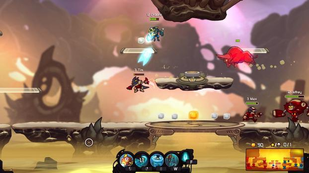 Awesomenauts - Grandmaster Splash Skin on PC screenshot #3