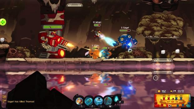 Awesomenauts - Grandmaster Splash Skin on PC screenshot #1
