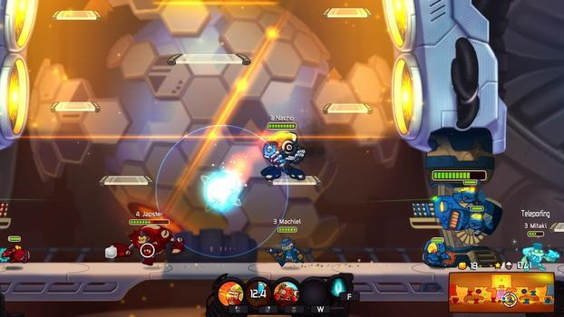 Awesomenauts - Hot Rod Derpl Skin on PC screenshot #3