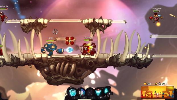 Awesomenauts - Hot Rod Derpl Skin on PC screenshot #2