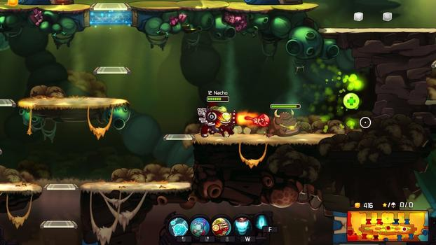 Awesomenauts - Hot Rod Derpl Skin on PC screenshot #1