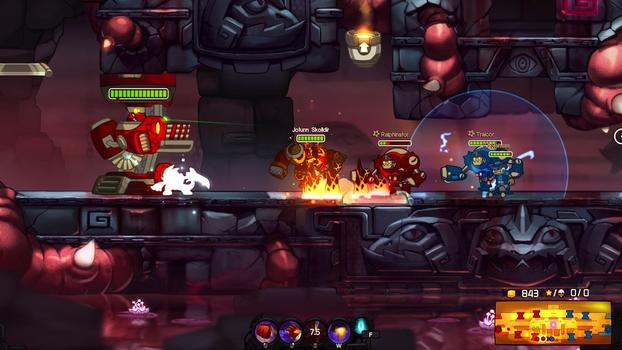 Awesomenauts - Jotunn Skølldir on PC screenshot #6
