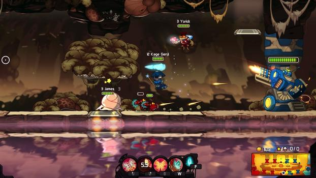 Awesomenauts - Kage Genji on PC screenshot #5
