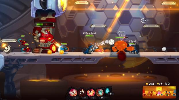 Awesomenauts - Kage Genji on PC screenshot #3