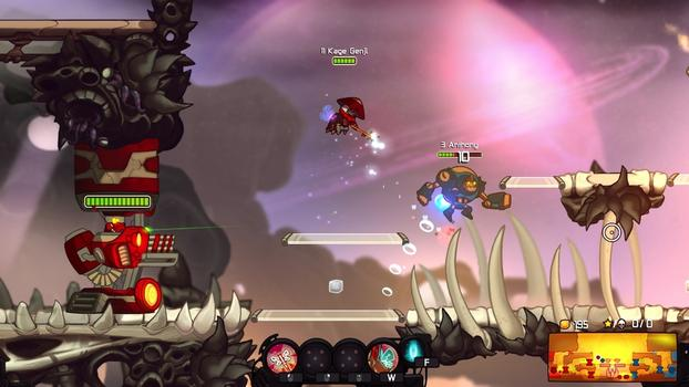 Awesomenauts - Kage Genji on PC screenshot #2