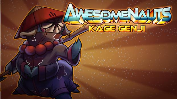 Awesomenauts - Kage Genji on PC screenshot #1