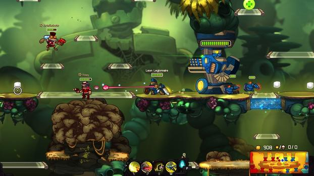 Awesomenauts - Leon Legionnaire on PC screenshot #4