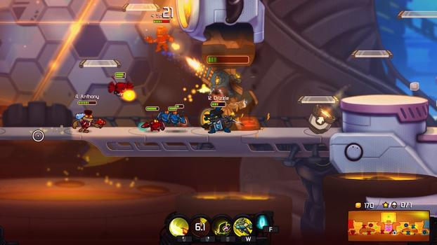 Awesomenauts - Mousquetaire Leon Skin on PC screenshot #3