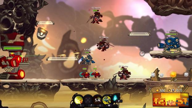 Awesomenauts - Mousquetaire Leon Skin on PC screenshot #2