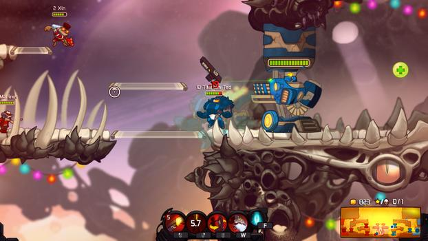 Awesomenauts - Party Boy McPain on PC screenshot #3