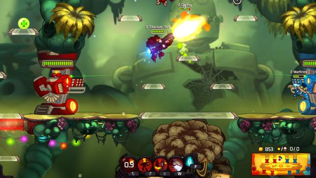 Awesomenauts - Party Boy McPain on PC screenshot #2