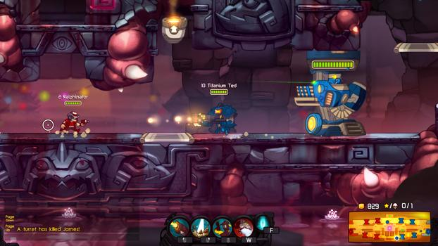 Awesomenauts - Party Boy McPain on PC screenshot #1