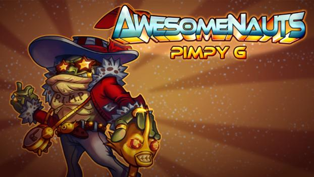 Awesomenauts - Pimpy G Skin on PC screenshot #1