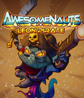 Awesomenauts: Pirate Leon Skin