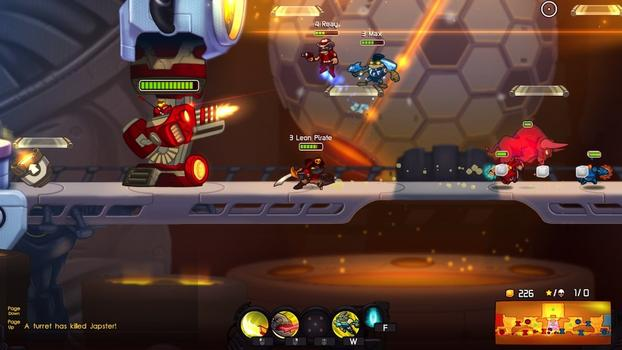 Awesomenauts: Pirate Leon Skin on PC screenshot #1
