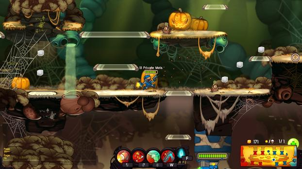 Awesomenauts - Private Mels DLC on PC screenshot #4
