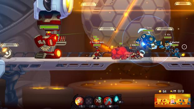 Awesomenauts - Private Mels DLC on PC screenshot #3