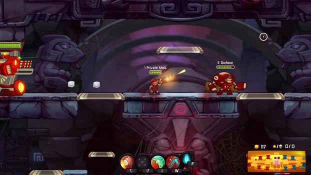 Awesomenauts - Private Mels DLC on PC screenshot #2