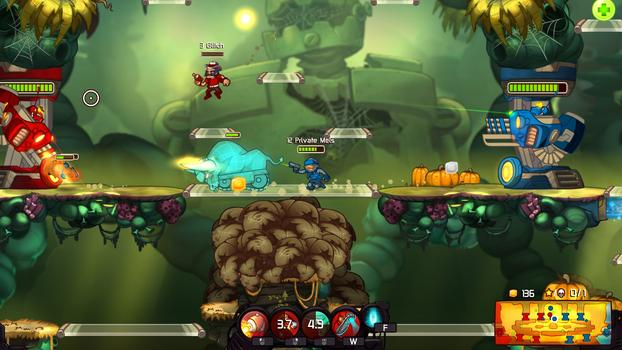 Awesomenauts - Private Mels DLC on PC screenshot #1
