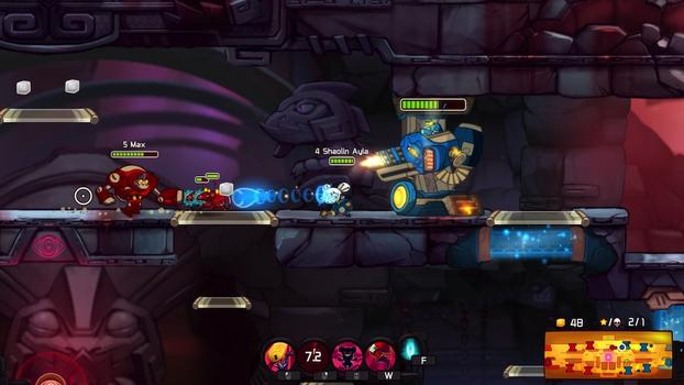 Awesomenauts: Shaolin Ayla on PC screenshot #4