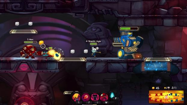 Awesomenauts: Shaolin Ayla on PC screenshot #2