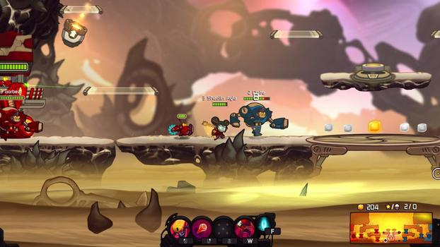 Awesomenauts - Shaolin Ayla on PC screenshot #1