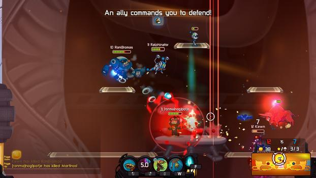 Awesomenauts: Starstorm on PC screenshot #5