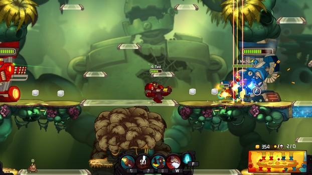 Awesomenauts: Starstorm on PC screenshot #3