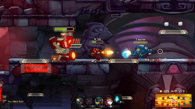 Awesomenauts: Starstorm on PC screenshot #2