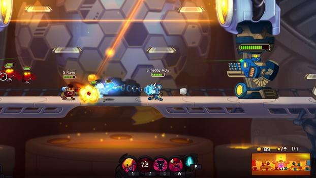 Awesomenauts: Teddy Ayla on PC screenshot #2