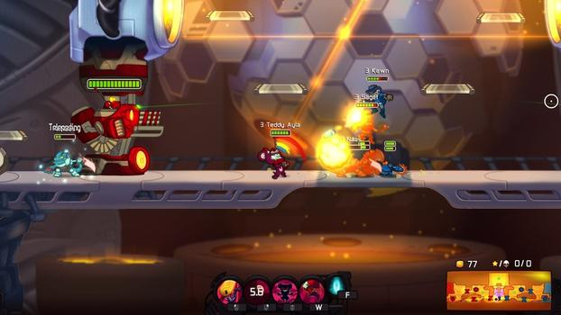 Awesomenauts - Teddy Ayla on PC screenshot #1