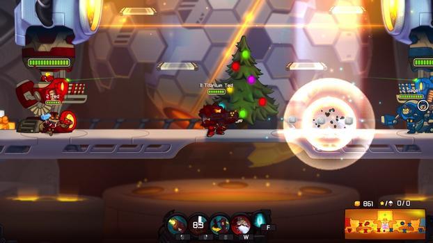 Awesomenauts: Titanium Ted on PC screenshot #5