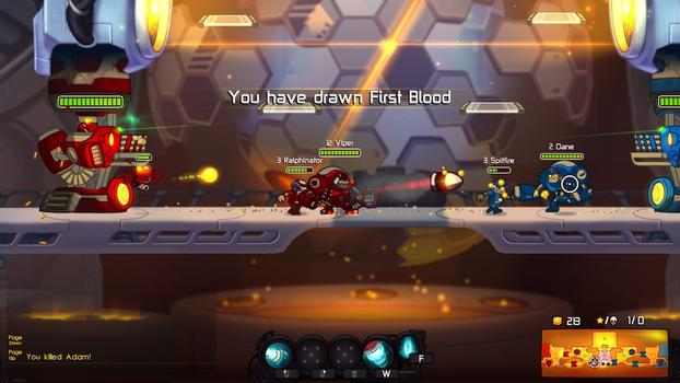 Awesomenauts - Tropical Thunder Bundle on PC screenshot #2
