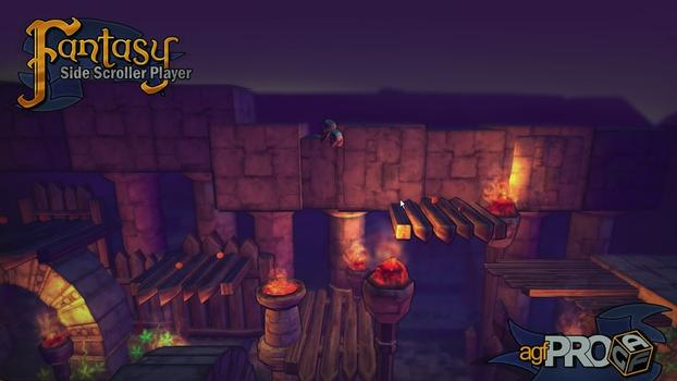 Axis Game Factory's AGFPRO Fantasy Side-Scroller Player on PC screenshot #7