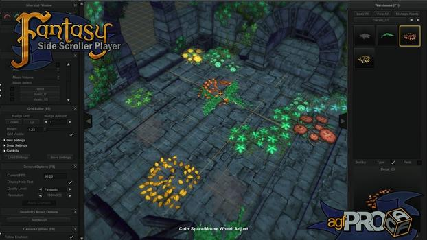 Axis Game Factory's AGFPRO Fantasy Side-Scroller Player on PC screenshot #5