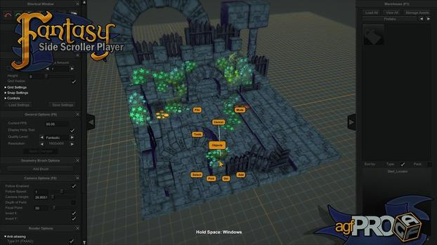 Axis Game Factory's AGFPRO Fantasy Side-Scroller Player on PC screenshot #4