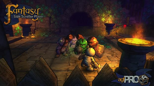 Axis Game Factory's AGFPRO Fantasy Side-Scroller Player on PC screenshot #3