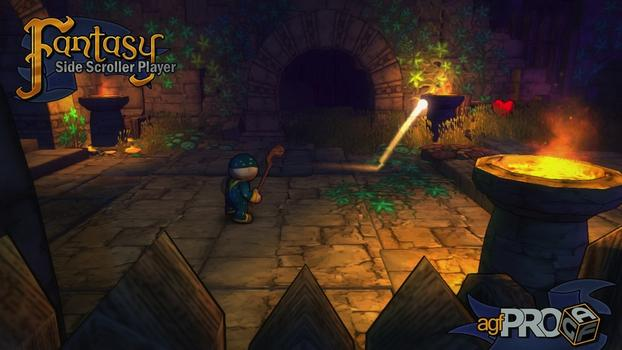 Axis Game Factory's AGFPRO Fantasy Side-Scroller Player on PC screenshot #2