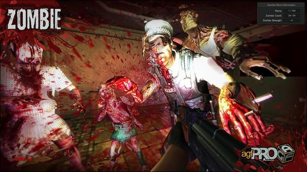Axis Game Factory's AGFPRO Zombie FPS Player DLC on PC screenshot #5