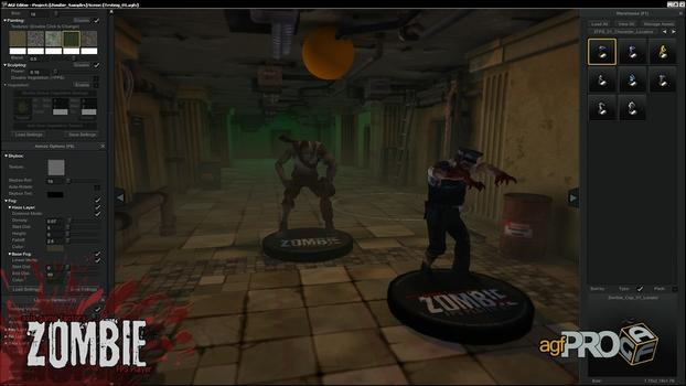 Axis Game Factory's AGFPRO Zombie FPS Player DLC on PC screenshot #4