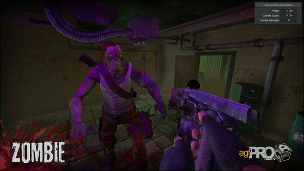 Axis Game Factory's AGFPRO Zombie FPS Player DLC on PC screenshot #3
