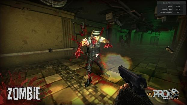 Axis Game Factory's AGFPRO Zombie FPS Player DLC on PC screenshot #2