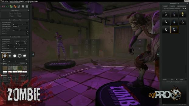 Axis Game Factory's AGFPRO Zombie FPS Player DLC on PC screenshot #1