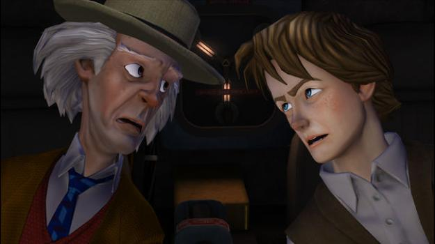 Back to the Future: The Game on PC screenshot #3