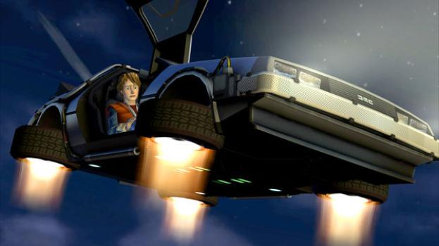 Back to the Future: The Game on PC screenshot #1