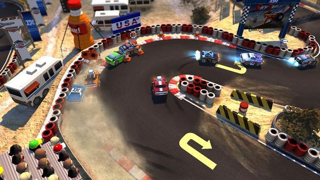 Bang Bang Racing on PC screenshot #1