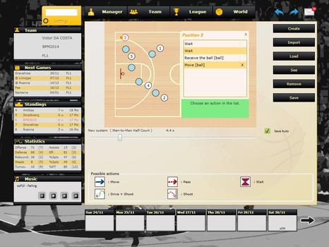 Basketball Pro Management 2014 on PC screenshot #5