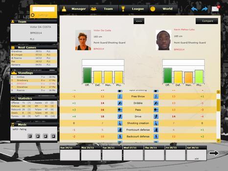 Basketball Pro Management 2014 on PC screenshot #4